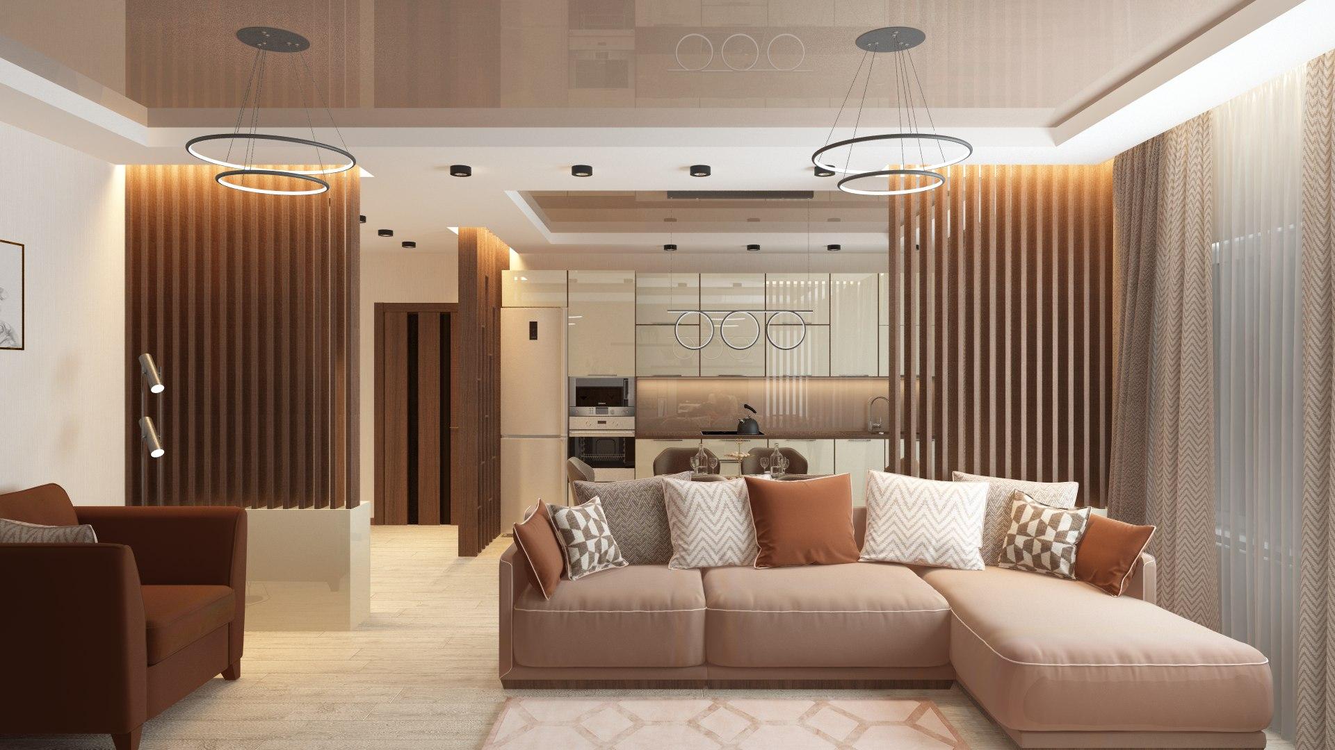 Отделка квартир под ключ в Чеховом, цены на внутреннюю